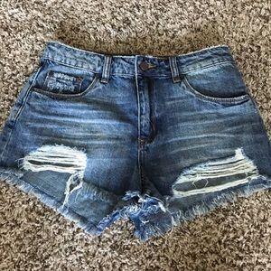 NWOT BP high waist denim shorts